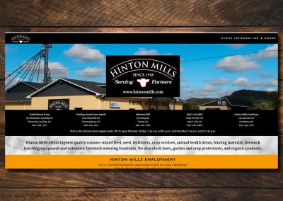 Hinton Mills Website